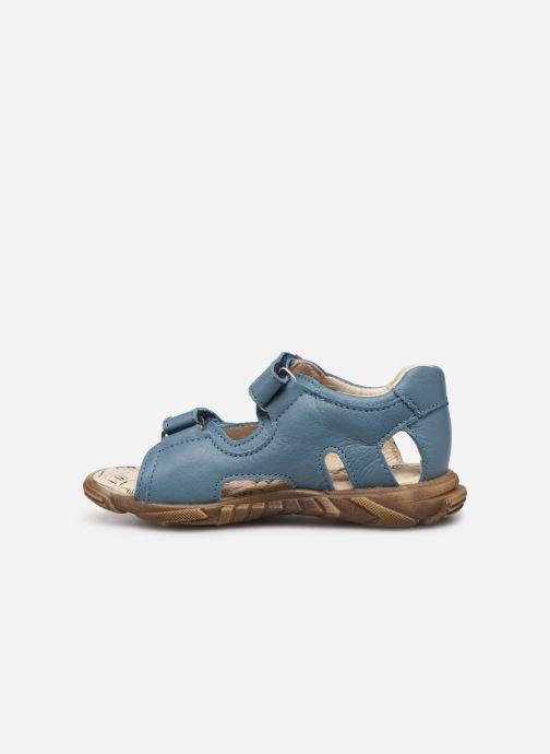 Sandales et nu-pieds Bopy Bedison Bleu vue face