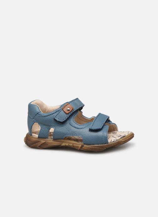 Sandales et nu-pieds Bopy Bedison Bleu vue derrière