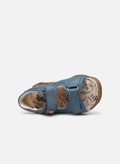 Sandales et nu-pieds Bopy Bedison Bleu vue gauche