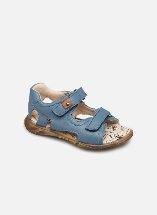 Sandales et nu-pieds Bopy Bedison Bleu vue détail/paire