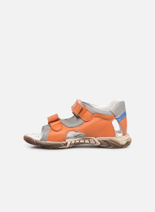 Sandales et nu-pieds Bopy Begalon Orange vue face