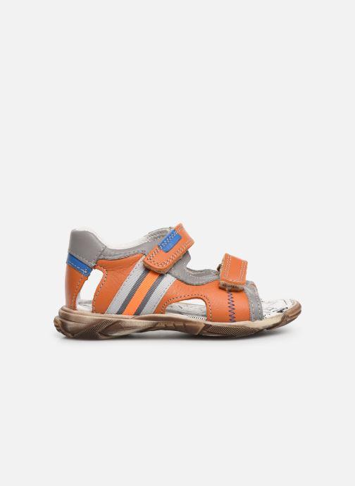 Sandales et nu-pieds Bopy Begalon Orange vue derrière