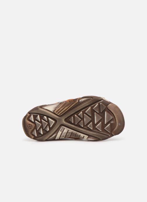 Sandales et nu-pieds Bopy Begalon Orange vue haut