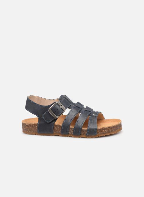 Sandales et nu-pieds Bopy Ebruno Bleu vue derrière