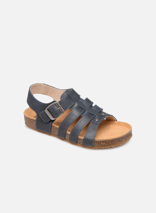 Sandales et nu-pieds Bopy Ebruno Bleu vue détail/paire