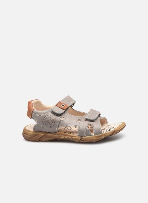Sandales et nu-pieds Bopy Edec Gris vue derrière