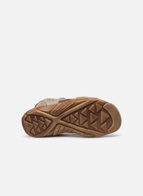 Sandales et nu-pieds Bopy Edec Gris vue haut