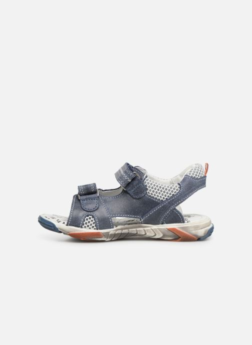 Sandales et nu-pieds Bopy Edric Bleu vue face