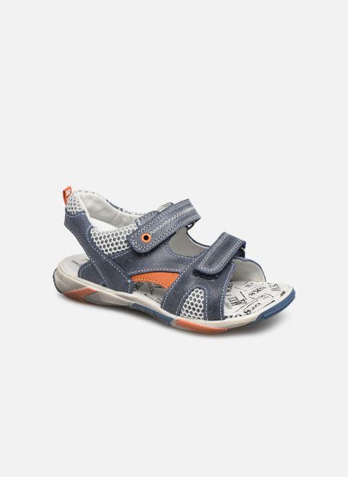 Sandales et nu-pieds Bopy Edric Bleu vue détail/paire