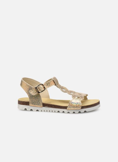 Sandals Bopy Endy Bronze and Gold back view