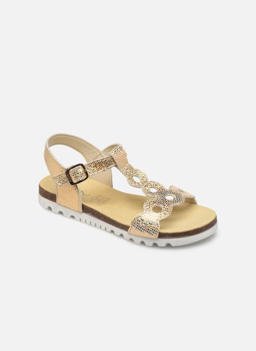 Sandals Bopy Endy Bronze and Gold detailed view/ Pair view