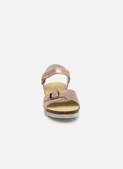 Sandales et nu-pieds Bopy Epape Rose vue portées chaussures