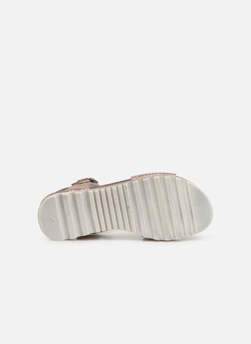 Sandales et nu-pieds Bopy Epape Rose vue haut