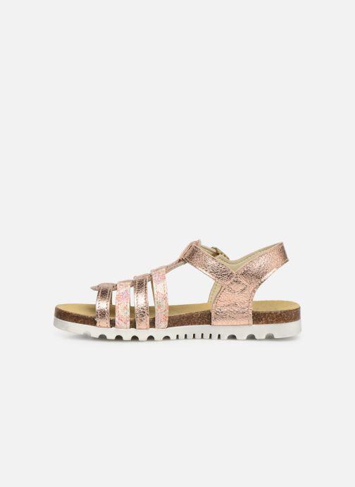 Sandales et nu-pieds Bopy Epois Rose vue face