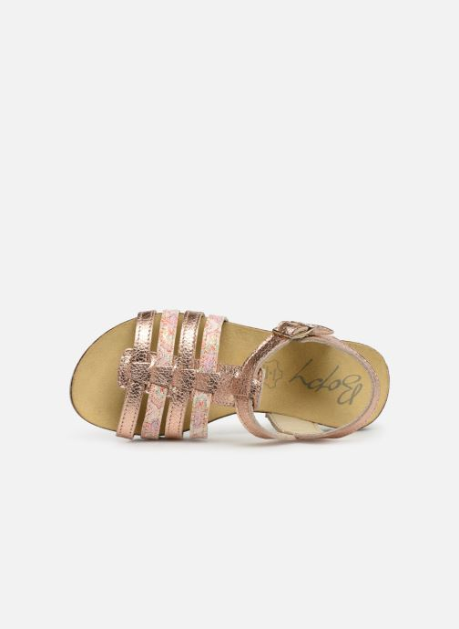 Sandales et nu-pieds Bopy Epois Rose vue gauche