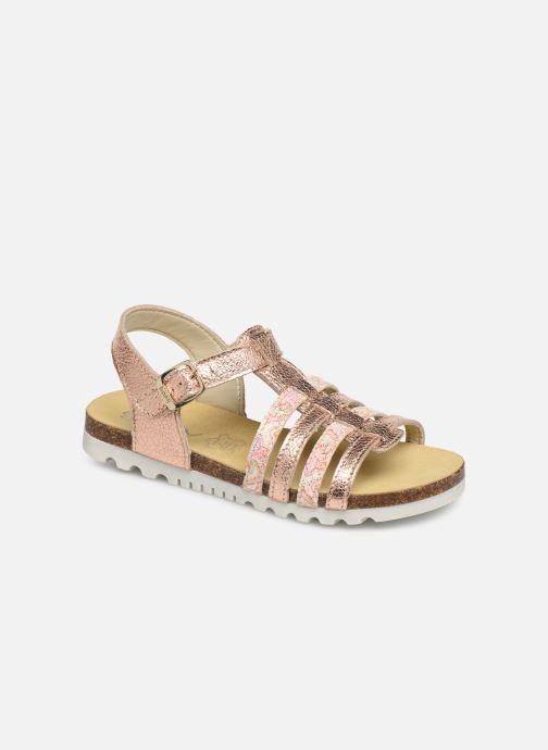 Sandales et nu-pieds Bopy Epois Rose vue détail/paire
