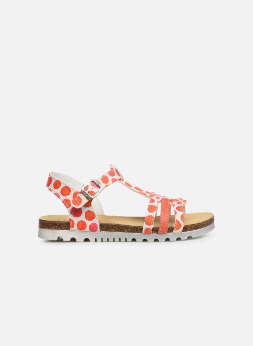 Sandales et nu-pieds Bopy Esilda Orange vue derrière