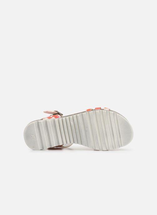 Sandales et nu-pieds Bopy Esilda Orange vue haut