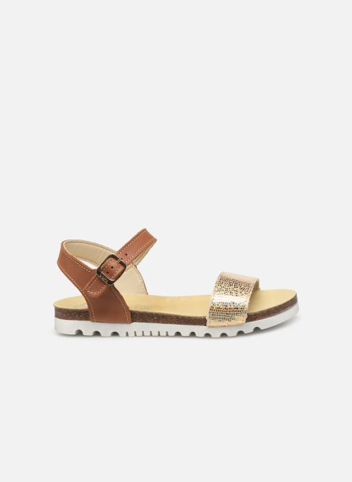 Sandals Bopy Evina Bronze and Gold back view