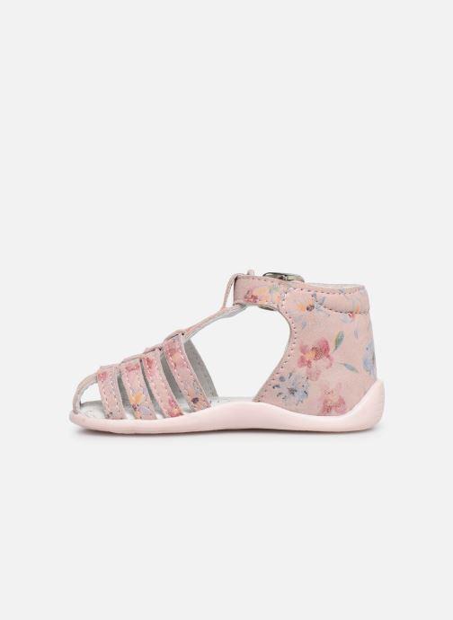 Sandales et nu-pieds Bopy Pafleur Rose vue face