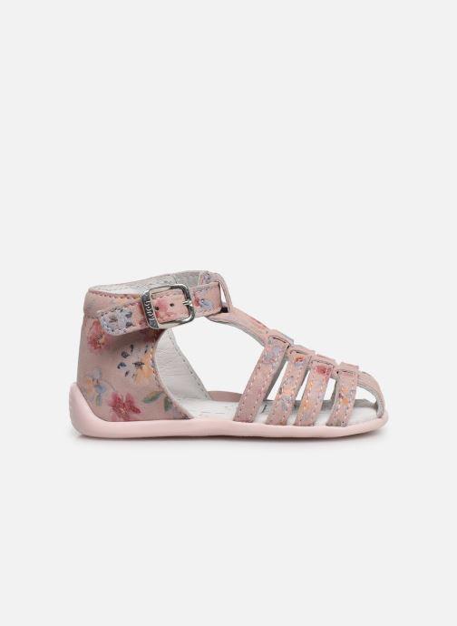 Sandales et nu-pieds Bopy Pafleur Rose vue derrière