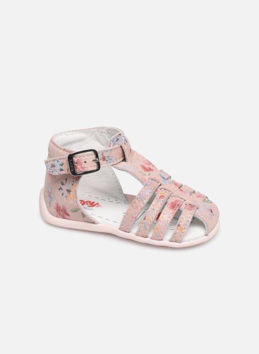 Sandales et nu-pieds Bopy Pafleur Rose vue détail/paire