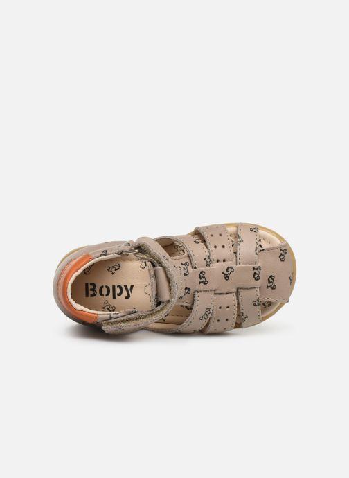 Sandales et nu-pieds Bopy Racine Beige vue gauche