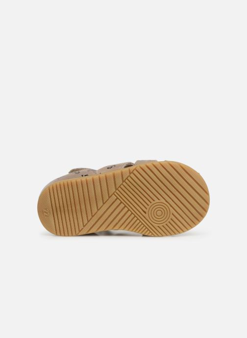Sandals Bopy Racine Beige view from above