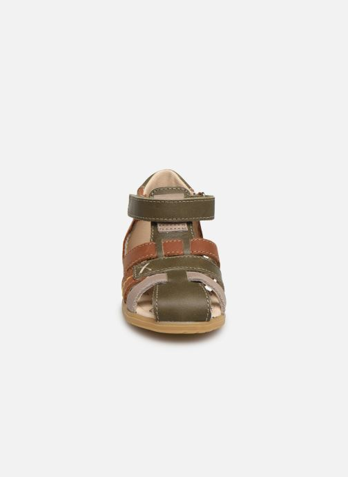 Sandales et nu-pieds Bopy Rado Vert vue portées chaussures