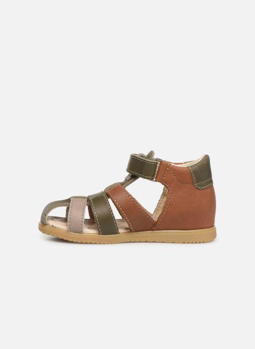 Sandales et nu-pieds Bopy Rado Vert vue face