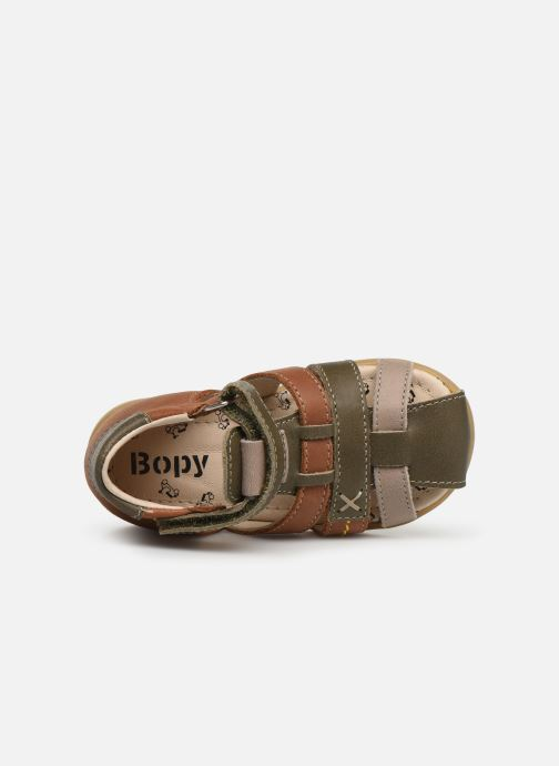 Sandales et nu-pieds Bopy Rado Vert vue gauche