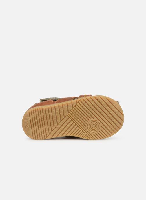 Sandales et nu-pieds Bopy Rado Vert vue haut