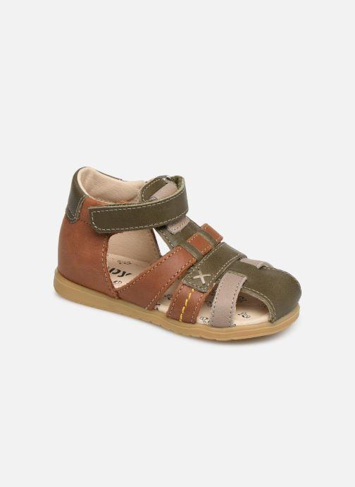 Sandales et nu-pieds Bopy Rado Vert vue détail/paire