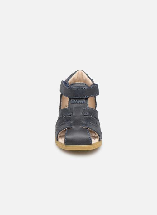 Sandales et nu-pieds Bopy Ralphic Bleu vue portées chaussures