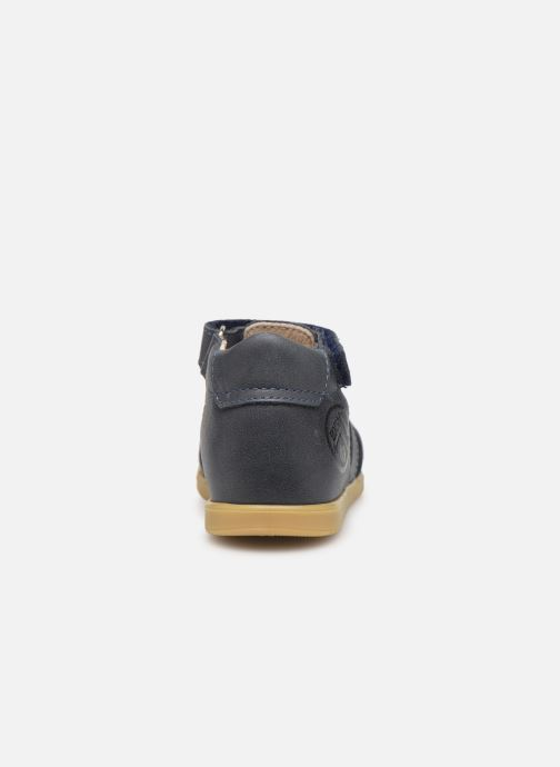 Sandales et nu-pieds Bopy Ralphic Bleu vue droite