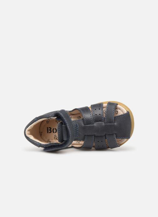 Sandales et nu-pieds Bopy Ralphic Bleu vue gauche