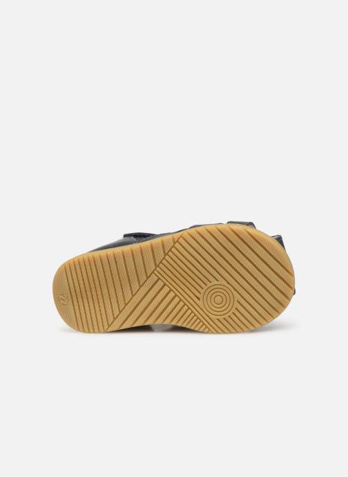 Sandales et nu-pieds Bopy Ralphic Bleu vue haut