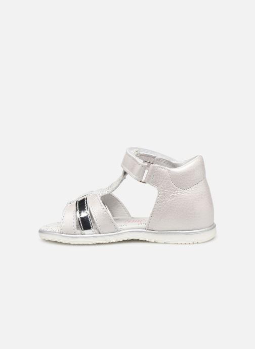 Sandales et nu-pieds Bopy Rejane Blanc vue face