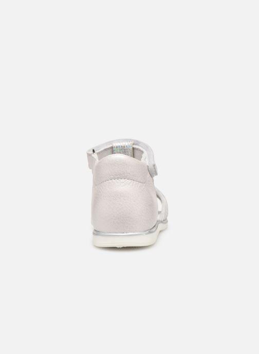 Sandales et nu-pieds Bopy Rejane Blanc vue droite