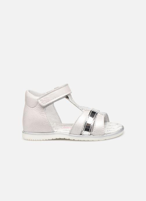 Sandales et nu-pieds Bopy Rejane Blanc vue derrière