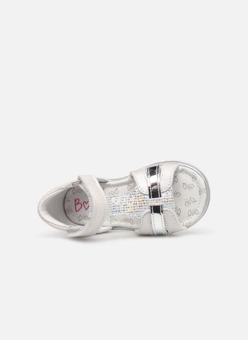 Sandales et nu-pieds Bopy Rejane Blanc vue gauche