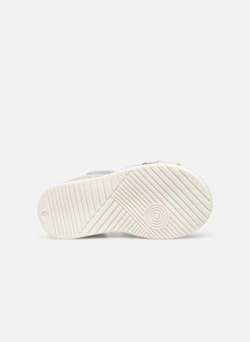 Sandales et nu-pieds Bopy Rejane Blanc vue haut
