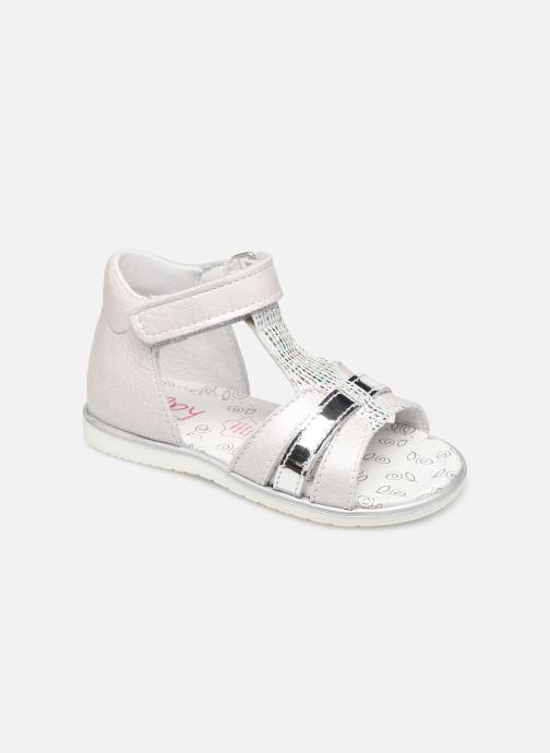 Sandales et nu-pieds Bopy Rejane Blanc vue détail/paire