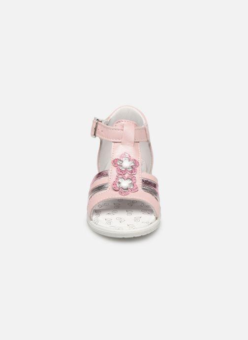 Sandales et nu-pieds Bopy Relena Rose vue portées chaussures