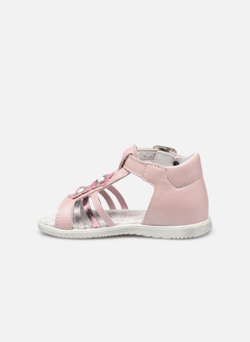 Sandales et nu-pieds Bopy Relena Rose vue face