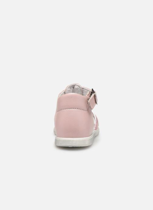Sandales et nu-pieds Bopy Relena Rose vue droite