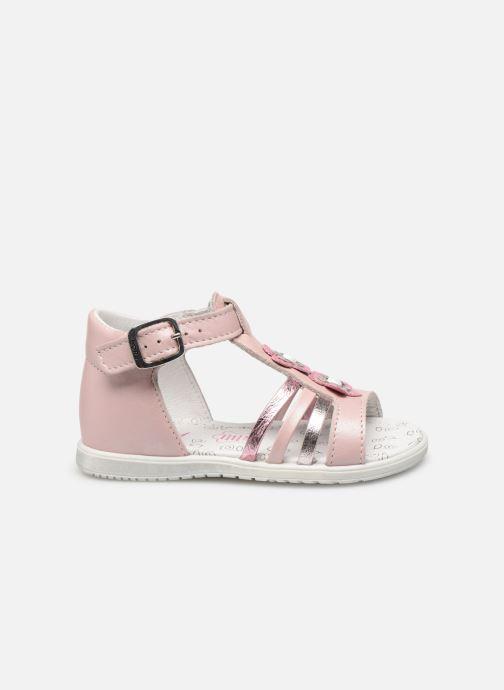 Sandales et nu-pieds Bopy Relena Rose vue derrière