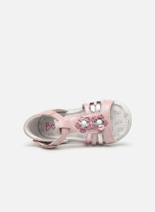 Sandales et nu-pieds Bopy Relena Rose vue gauche