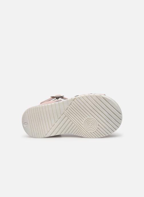 Sandales et nu-pieds Bopy Relena Rose vue haut