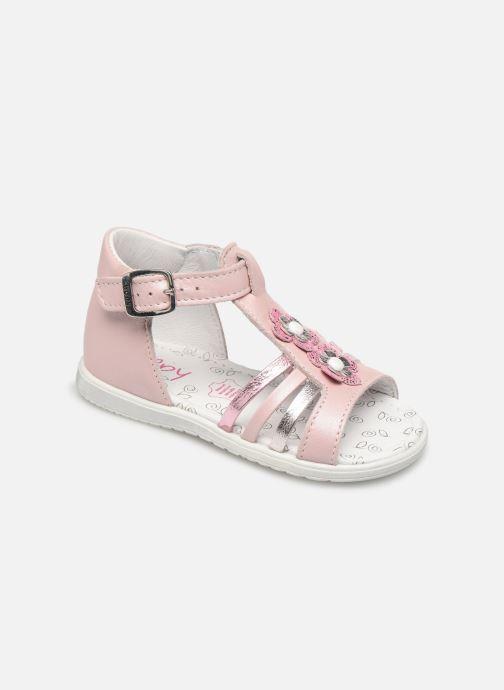 Sandales et nu-pieds Bopy Relena Rose vue détail/paire